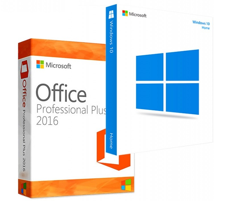 купить windows 10 home, купить microsoft office 2016 pro