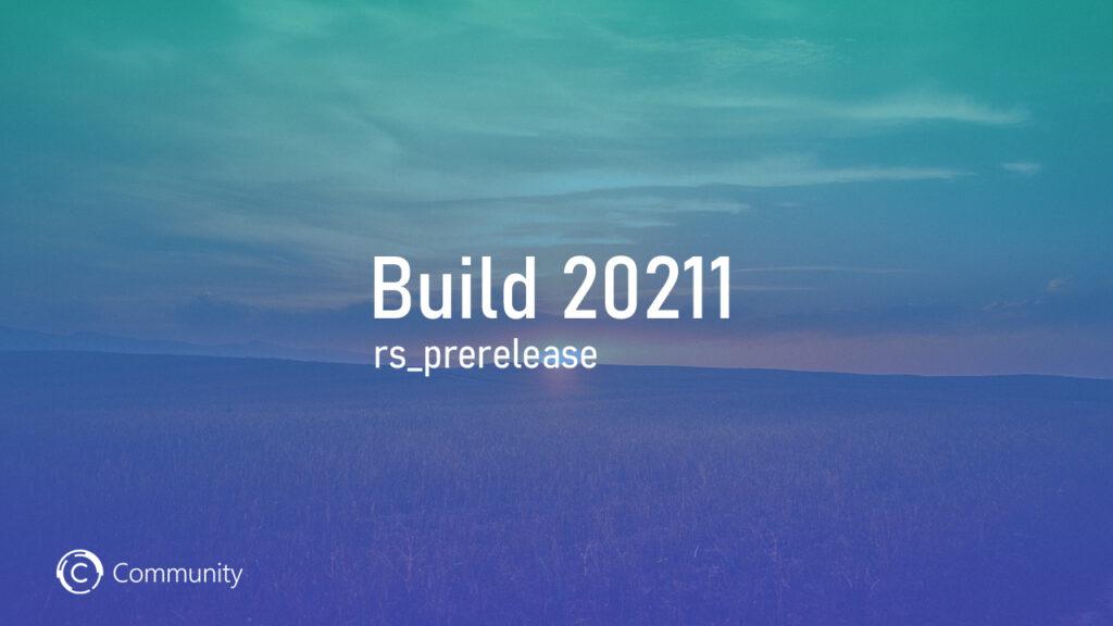 Windows 10 Build 20211